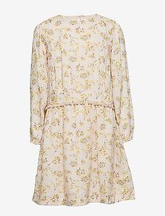 Anisha Dress, K - SILVER PEONY