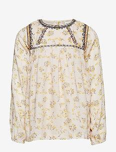 Asta Shirt, K - SILVER PEONY