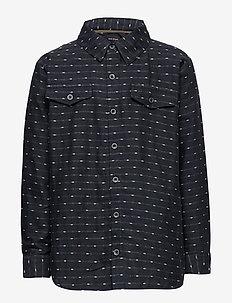 Louis Shirt, K - shirts - blue nights