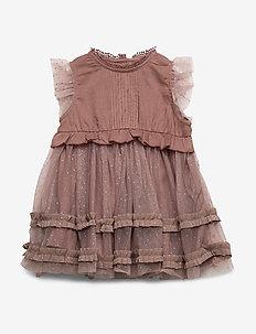 Dinna Dress, B - MUTED LILAC