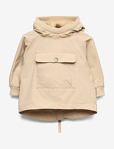 Baby Vito Anorak Fleece, M - shell jacket - doeskind sand