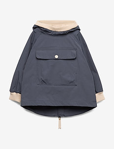 Baby Vito Anorak Fleece, M - shell jacket - ombre blue