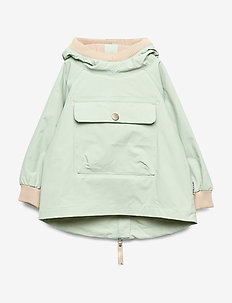 Baby Vito Anorak Fleece, M - shelljacke - puritan grey