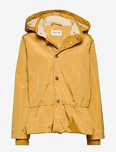 Wela Jacket, K - shell jacket - honey mustard