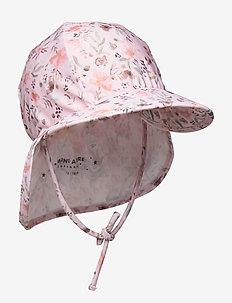 Gustas Hat, B - uv caps - mauve morn rose