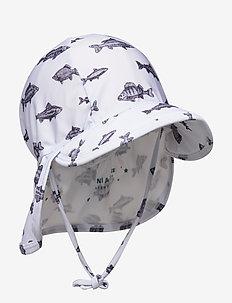 Gustas hat, B - solhat - baby blue
