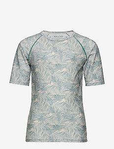 Gun T-shirt, K - badpakken - blue surf