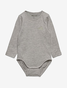 Yomi Body, B - manches longues - light grey melange