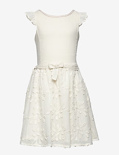 Zola Dress, K - sukienki - off white
