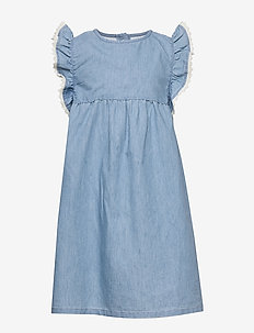 Allison Dress, K - sukienki - ashley blue