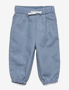 Berned Pants, M - trousers - ashley blue