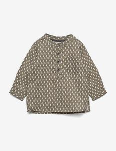 Lai Shirt, M - shirts - deep green