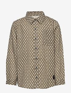 Adlan Shirt, K - shirts - deep green