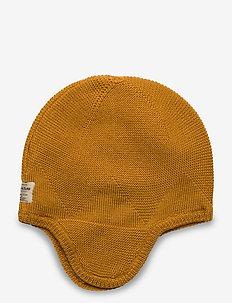 Gui Hood, K - hatter - buckthorn brown