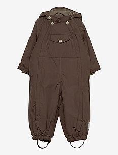 Wisti Snowsuit, M - vinterdress - dark choco