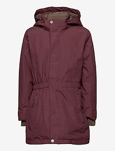 Vela Jacket, K - vinterjakke - catawba grape