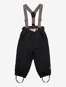 Wilas Suspenders Pants, M - vinterbukser - tap shoe black