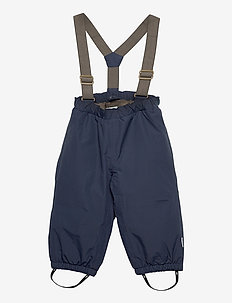 Wilas Suspenders Pants, K - vinterbukser - blue nights