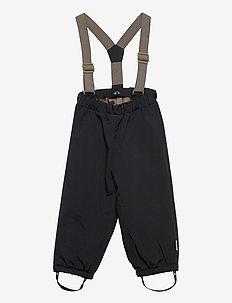 Wilas Suspenders Pants, K - vinterbukser - tap shoe black