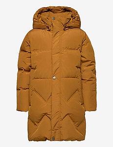 Isabelle Jacket, K - gewatteerde jassen - rubber brown