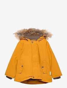 Wally Faux Fur Jacket, M - parkas - buckthorn brown