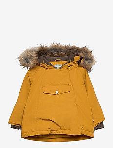 Wang Faux Fur Jacket, M - parkas - buckthorn brown