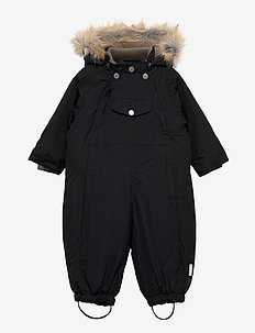 Wisti Faux Fur Snowsuit, M - vinterdress - tap shoe black