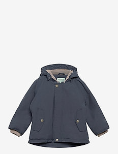 Wally Jacket, M - puffer & padded - ombre blue