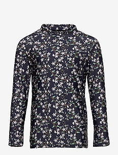 Gani T-shirt, K - uv-clothing - deep well blue