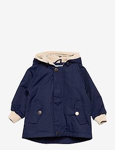 Wally Jacket, M - shell jassen - maritime blue