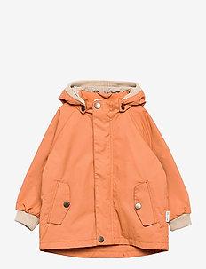 Wally Jacket, M - shell jackets - terra cotta