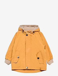 Wally Jacket, M - shell jackets - waxed honey