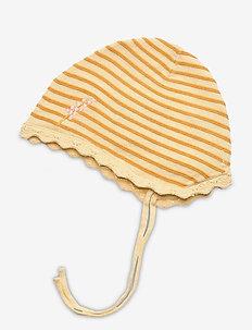 Una Baby Hood, B - hats & gloves - apricot gelato