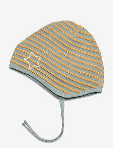 Urs Baby Hood, B - hats & gloves - slate blue