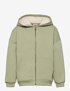 Alfi Zip Hoodie, K - sweatshirts & hoodies - oil green
