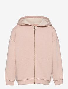 Alfi Zip Hoodie, K - sweatshirts & hoodies - rose dust