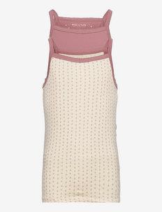 Yalina Top GOTS 2 PACK, K - night & underwear - 2 pack