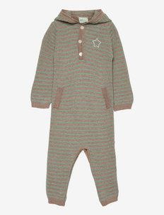 Vilholt Romper, B - long-sleeved - chinois green
