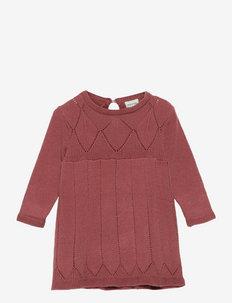 Almai Dress, B - kleider - cowhide red