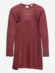 Albika Dress, K - dresses & skirts - cowhide red