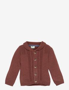 Diron Cardigan, B - cardigans - rootbeer brown