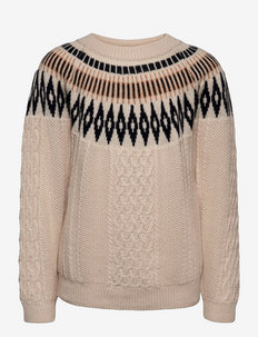 Timo Blouse, M - jumpers - sand dollar