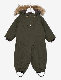 Wisti Fake Fur Suit, M - snowsuit - deep depths