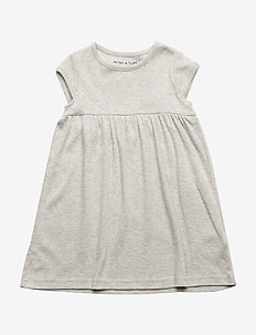 Else SS Dress, BM - sukienki - light grey melange