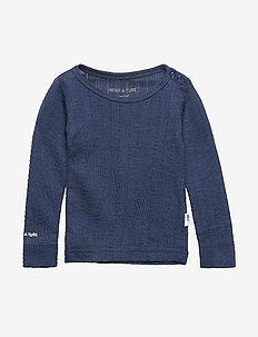 Eddy T-shirt, MK - langærmede t-shirts - mood indigo