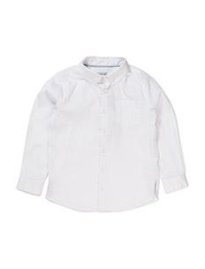 Jeppe, K Shirt - WHITE