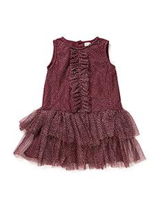 Melischa, MK Dress - FIG RED