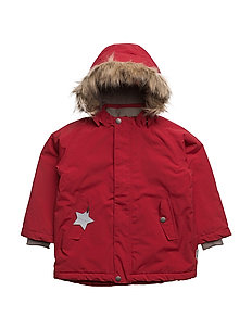 Wally Faux Fur, MK Jacket - SCOOTER RED
