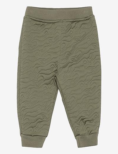 Daris Pants, M - overall - deep green