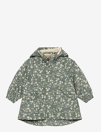 Anitha Jacket Fleece, M - veste d'hiver - laurel green